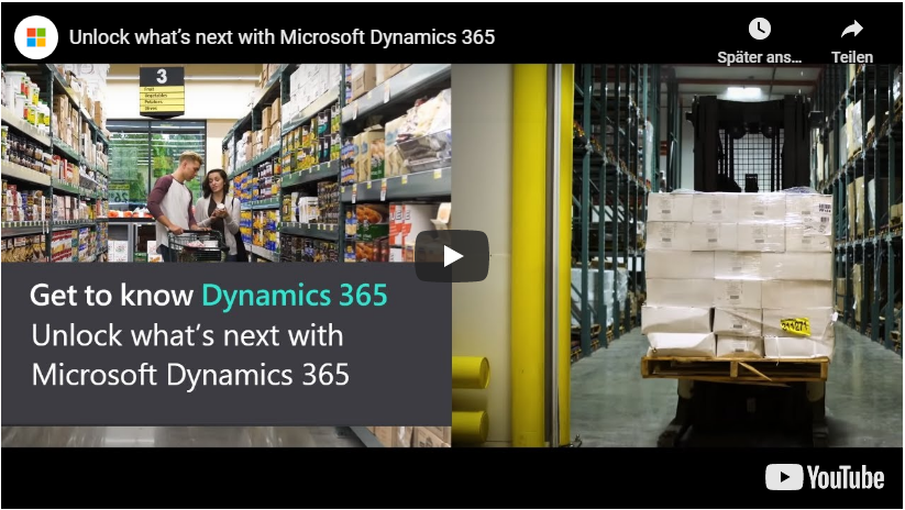 Video Dynamics 365 - Get to know